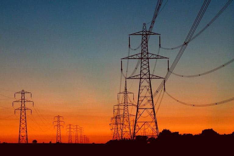 high-voltage-pylons